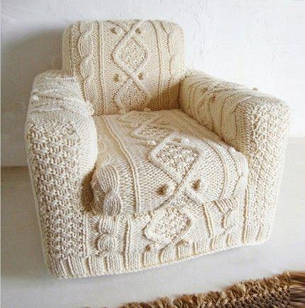 French By Design: I heart #Knitting - #idea stupenda, progetto da iniziare ora per l'#inverno!!!!
