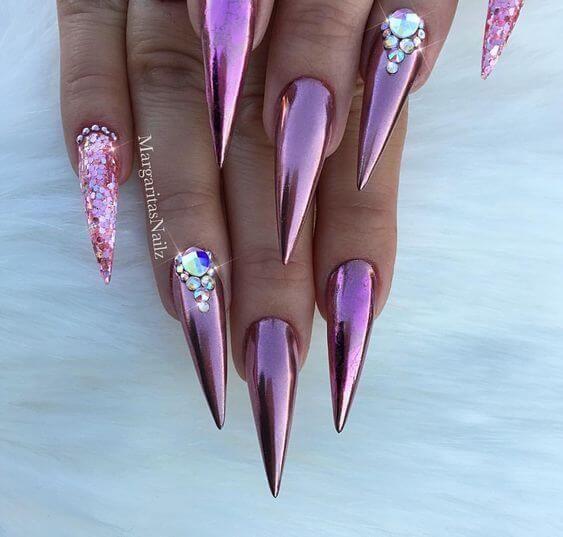 80 inspirierende Stiletto Nails Bilder – beauty