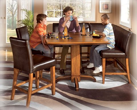 Ashley Urbandale Pub Set Gt Dining Room Furniture