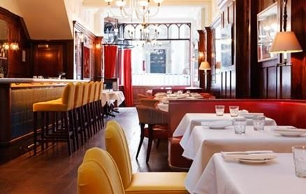 In July 2007 the team behind Arbutus, introduced their second restaurant Wild Honey in Mayfair. Offering the same trademark of great cooking combined with sensitive pricing. The room is wood panelled with ornate plaster mouldings and an original fireplace. The restaurant offers cosy and private booths and banquette seating and a stunning onyx bar top.