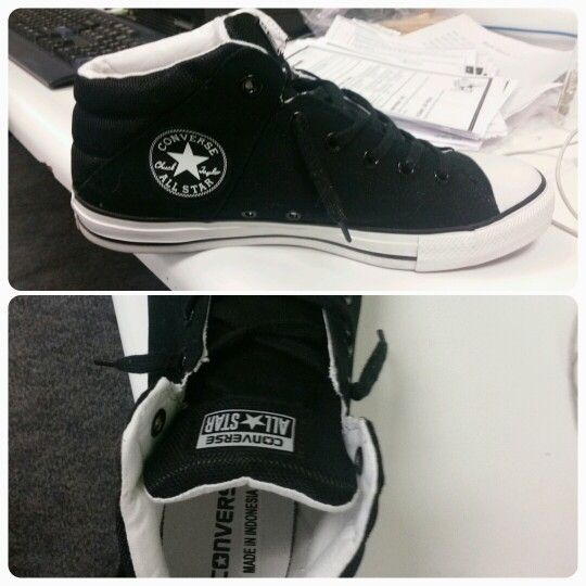 My new converse mid tops!