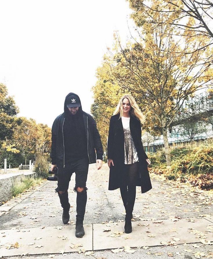 Inna Moll and Adam Horwitz on instagram
