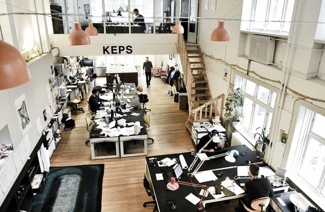 These 11 stylish co-working spaces house some of Copenhagen's most successful startups and inspire young entrepreneurs.