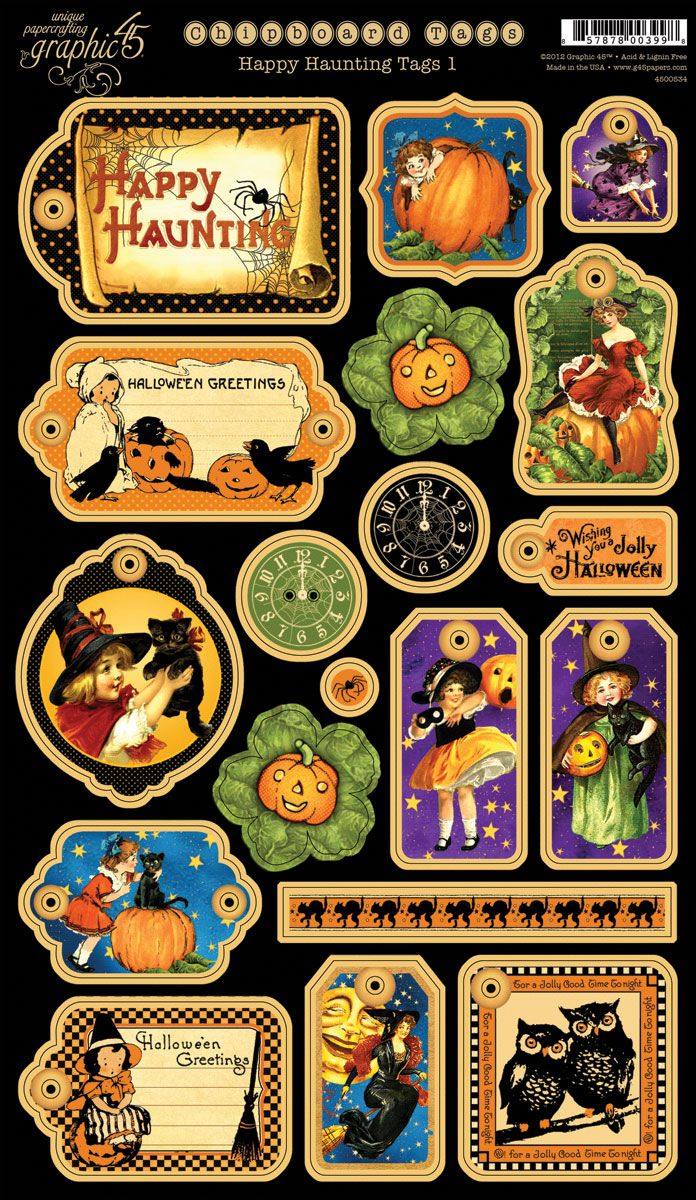 Happy-Haunting-Chipboard-Tags-1 - graphic 45