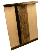 黒柿帯木曽檜こま板