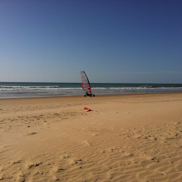 Playa De Castilnovo en Conil de la Frontera, Andalucía