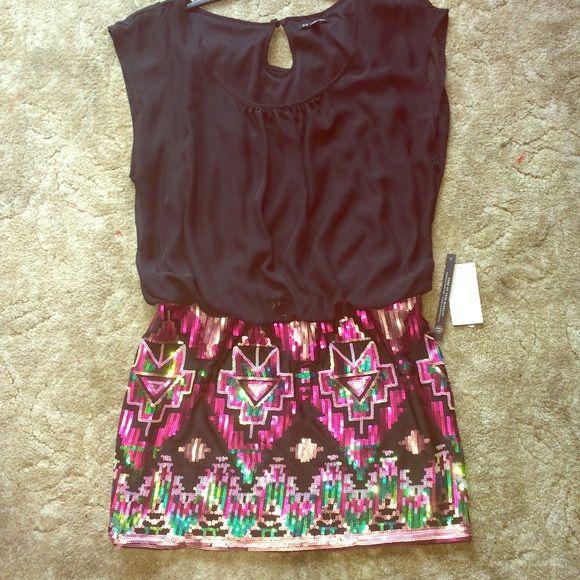 Xoxo evening dress Aztec print Evening wear brand new never worn juniors dress size. XOXO Dresses