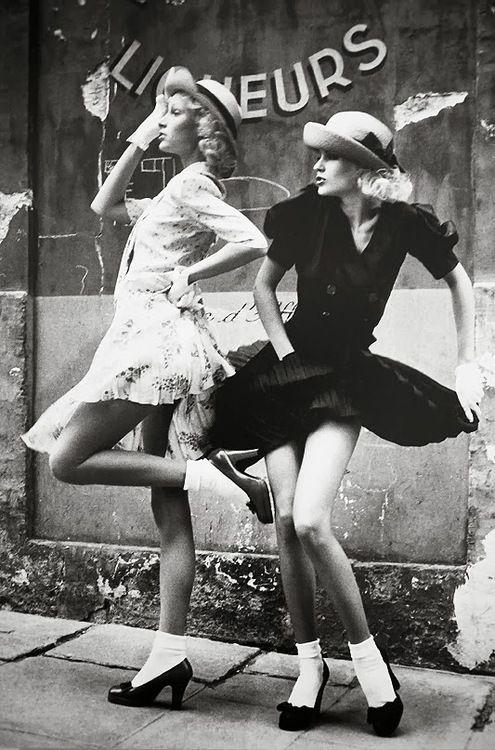 Sacha Van Dorssen - Fashion editorial for Vogue UK, 1972.
