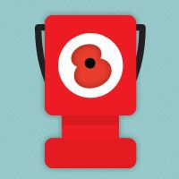 The Royal British Legion - Follow the Poppy website (Parallax scrolling example)