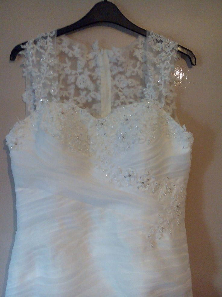 Mori Lee style wedding dress bought as a 14 but probably 14/16 beautiful,unworn