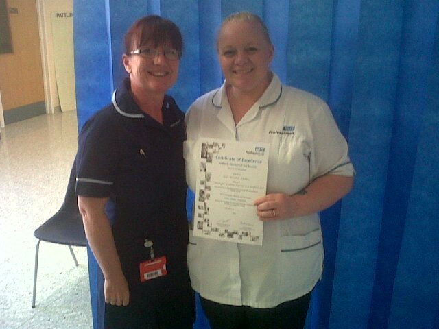 Staff at Wrightington, Wigan and Leigh NHS Trust