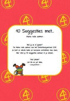 * Kringactiviteiten: 40 leuke suggesties met kleine zakjes...