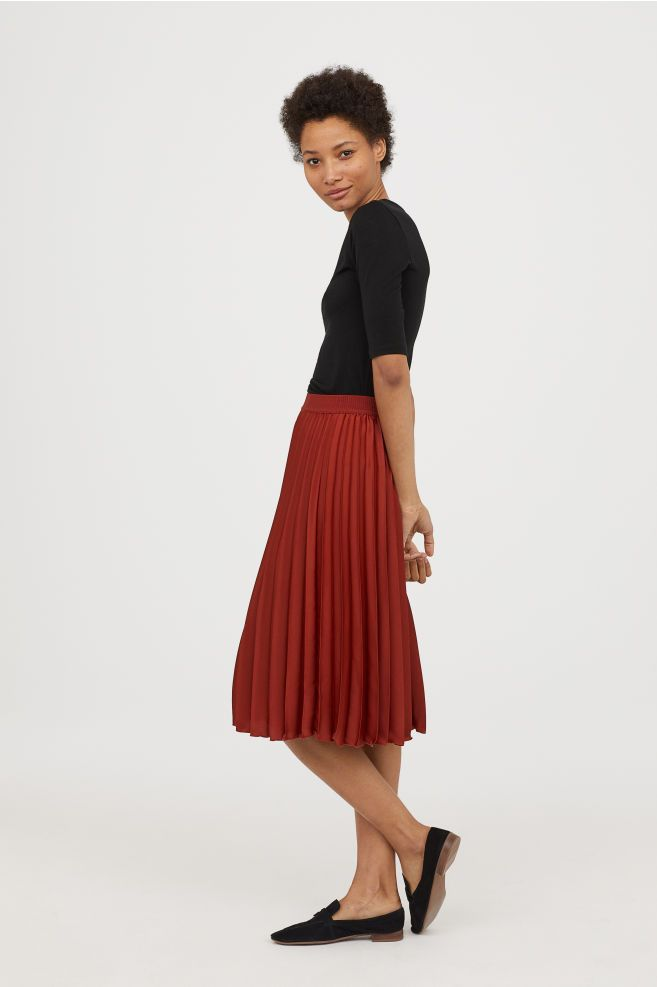 229c2658cd Pleated Skirt | fits | Pleated skirt outfit, Pleated skirt, Skirts