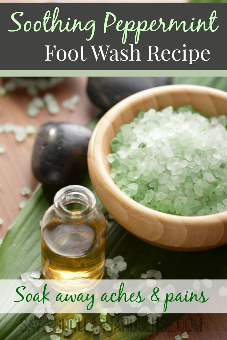 I need to use this recipe after a long day on my feet!!