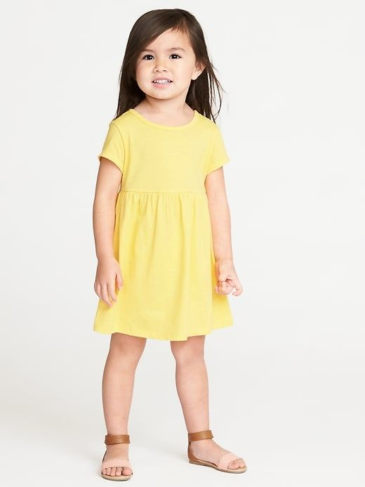 1b7bb4d0a7d1c Jersey Fit & Flare Dress for Toddler Girls | Family Portrait Style ...