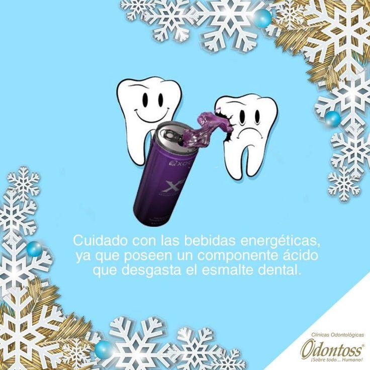 ¿Te gustan las bebidas energéticas? Mucho cuidado cuando decidas beberlas ya que estas causan un desgaste irreversible en tus dientes.