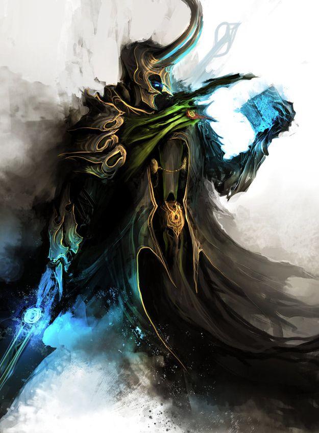 "Medieval ""Avengers"" Fan Art. Artist: theDURRRRIAN: Dungeons And Dragon, Avengers Loki, Medieval Avengers, Dark Fantasy, Comic Art, Fans Art, Guild War, Fanart, The Avengers"