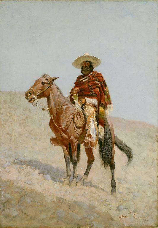 A Mexican Vaquero , Frederick Remington, 1890