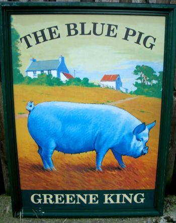 Antique English Pub Sign