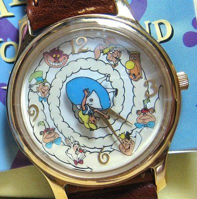 Alice in Wonderland 45th anniversary watch