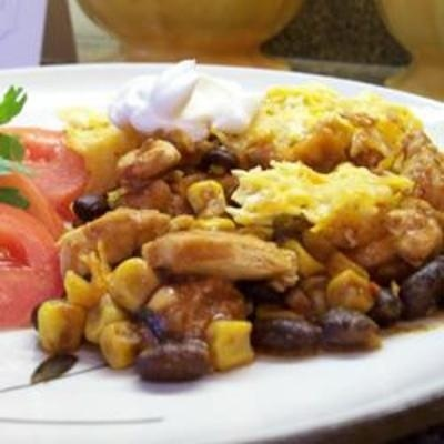 Art #recipe #food #cooking Mexican Casserole food-and-drink