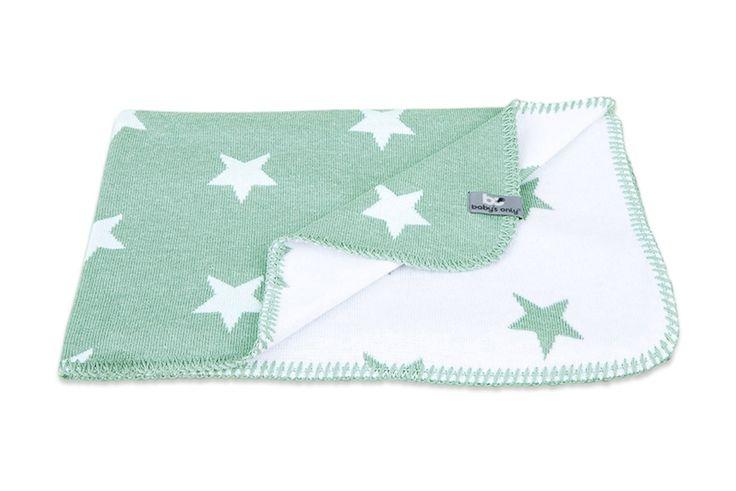 Baby´s Only Feine Strickdecke Sterne mint/weiß 90x75cm - im Fantasyroom Shop online bestellen oder im Ladengeschäft in Lörrach kaufen. Besuchen Sie uns!