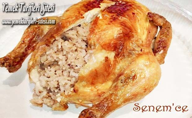 İç Pilavlı Tavuk Dolması Tarifi | Yemek Tarifleri Sitesi - Oktay Usta - Harika ve Nefis Yemek Tarifleri