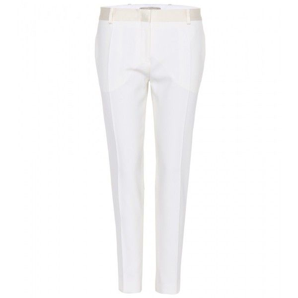 Victoria Beckham Wool Cigarette Trousers found on Polyvore
