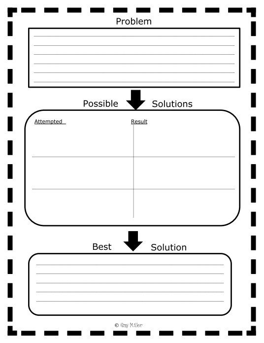 best problem and solution ideas reading story problems and solutions anchor chart and graphic organizers
