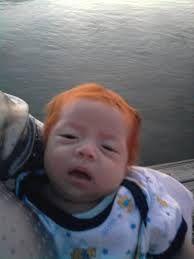Resultado de imagen para imagenes de bebes pelirrojos graciosas