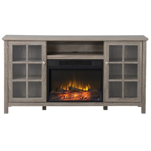 Found it at Wayfair - Provence TV Stand with Electric Fireplace - 17 Best Ideas About Electric Fireplace Tv Stand On Pinterest