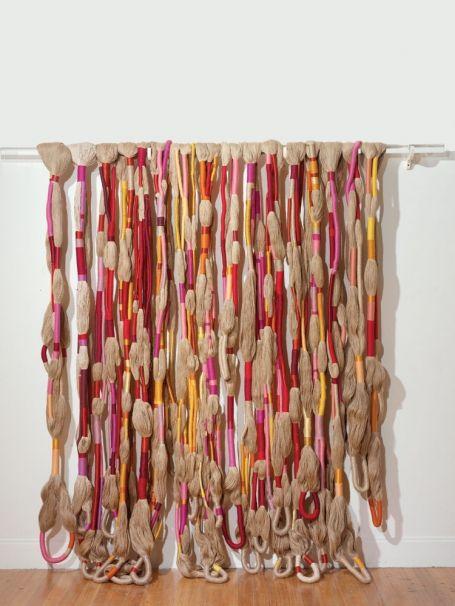 Sheila Hicks.The Principal Wife, 1968; linen, rayon, acrylic yarns