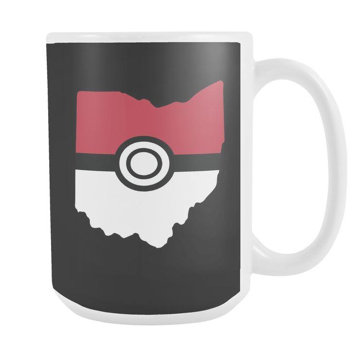 Pokemon USA American State 15oz Coffee Mug - TL00623M5