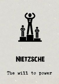 """#Nietzsche nihilistic aphorism """"God is Dead"""" is the starting point for his wider conviction that there were no truths or certainties  In this uncertain void, true meaning came in reaching for an inner #Ubermensch, where we should and must create our own values in a Will to Power."""