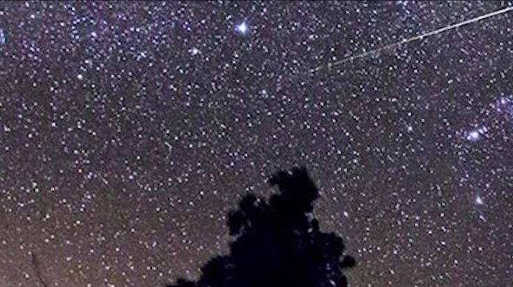 The annual Geminid meteor shower came on the same night as a Supermoon, somewhat obscuring the impressive celestial display.