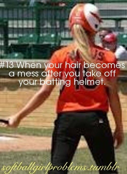 I used to love watching my daughter get ready for a game.  She spent so much time on her long beautiful blond hair before the games. Still looked great at the end of it. Seems like ages ago---