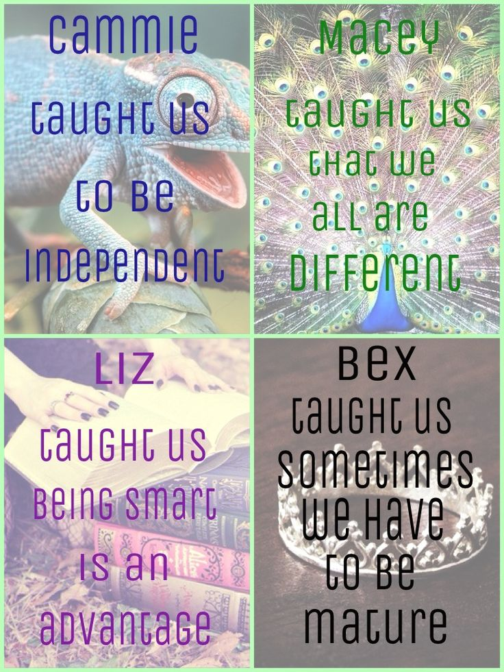 What the Gallagher Girls taught us... Edit by @hellogallaghergirl on Instagram