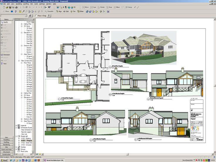 Nice visual of this house in Revit.