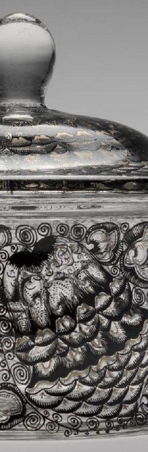 Detail - Entwurf: Karl Massanetz, Kamenický Šenov (Steinschönau), 1914 Manufaktur: Karl Massanetz, Kamenický Šenov (Steinschönau), 1914