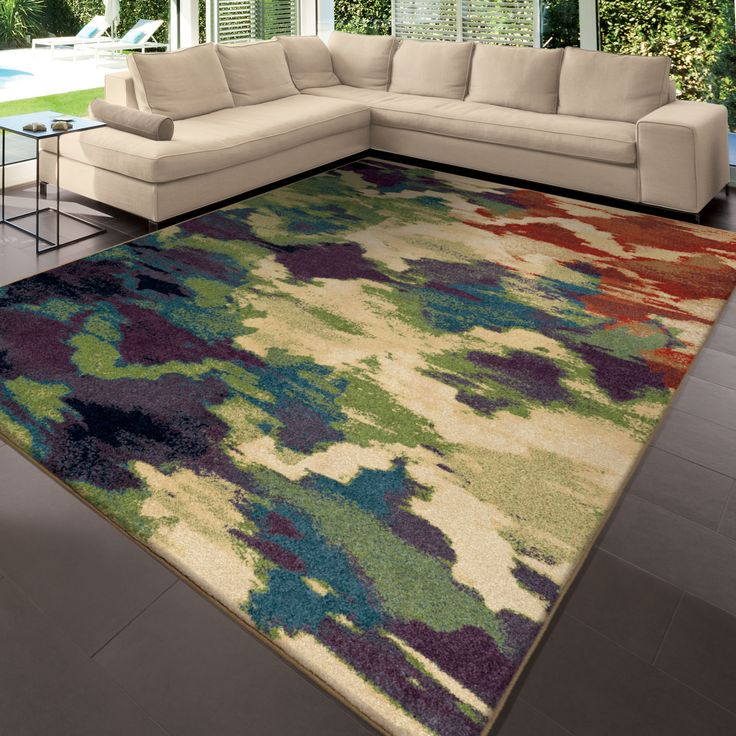 Orian Rugs Splash Of Color Multi Colored Area Rug, Multicolor