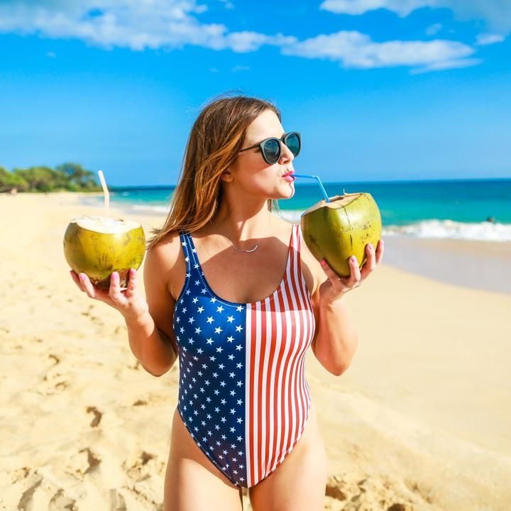 4th of july bikini top