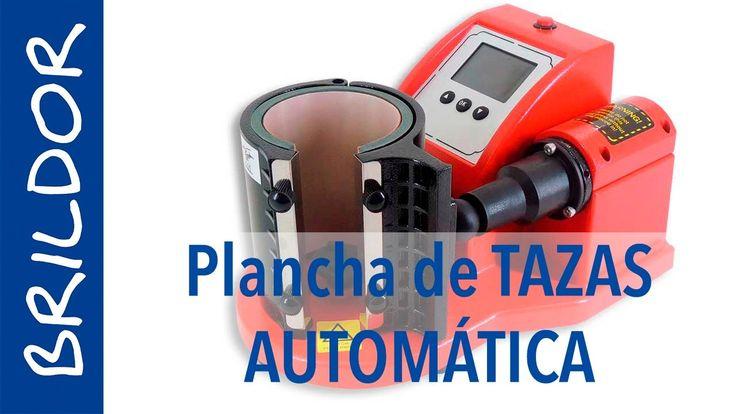 Plancha AUTOMÁTICA para TAZAS de SUBLIMACIÓN