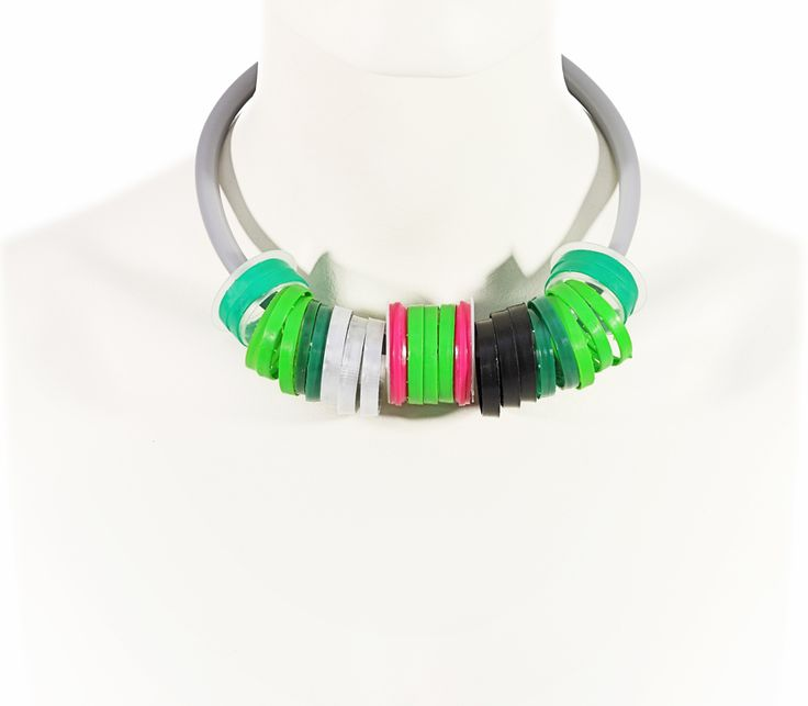 PLASTIC FANTASTIC! Collection SS 2013   TRASH4FLASH Necklace   SHOP@ trash4flash.bigcartel.com