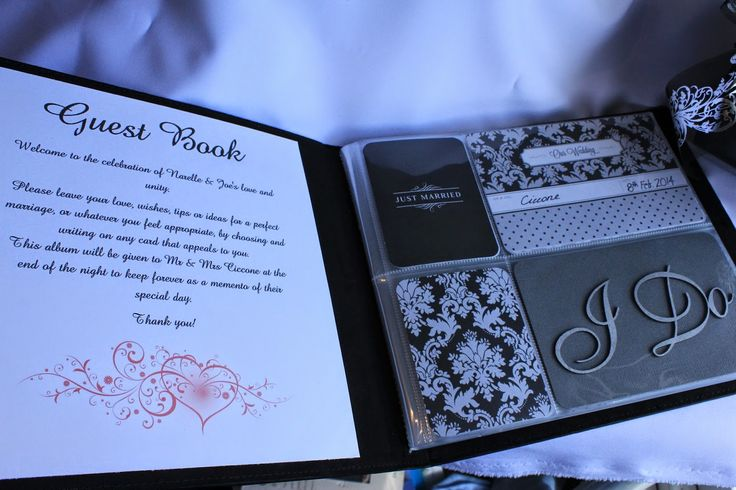 ~Scrap Fruition~: Wedding Guest Book (Project Life style) & a Exploding Box card