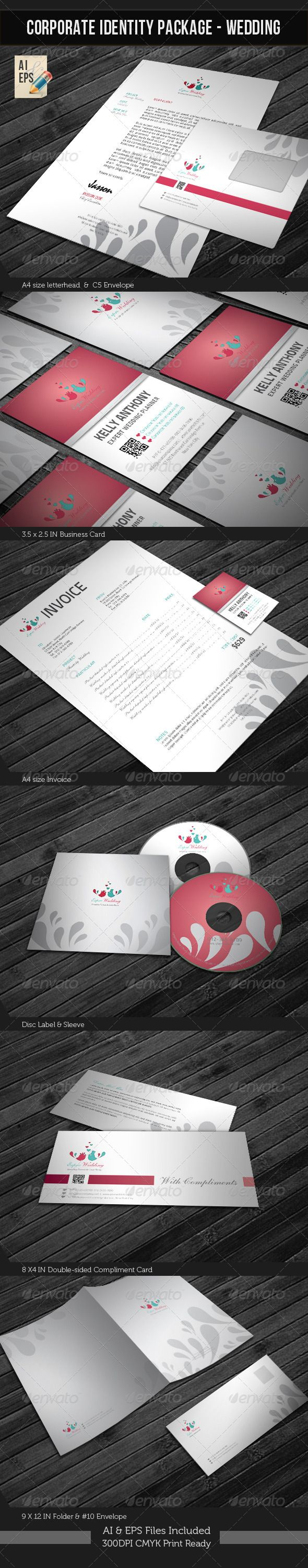 Corporate Identity Package Wedding Planner 16