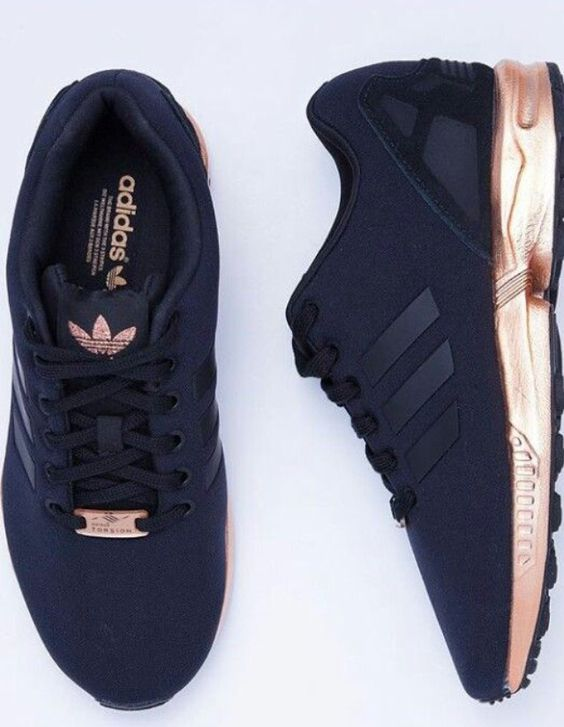 adidas zx flux rose gold acheter