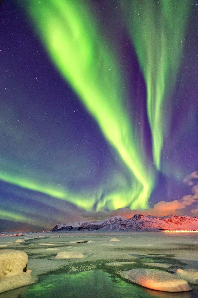 Aurora Sunset  #BeautifulNature #NaturePhotography #Nature #Photography #Sunsets #Reflections #Aurora