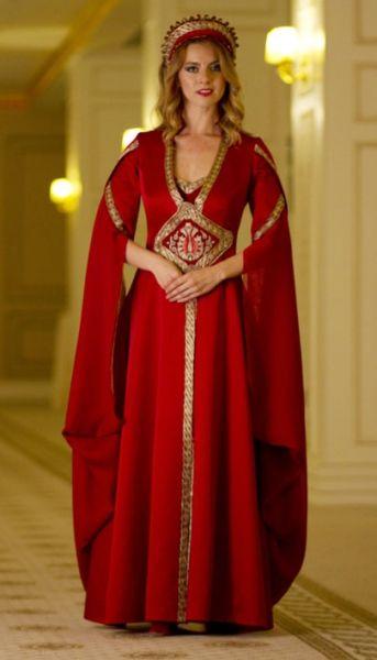 Bindallı-Anatolian traditional women's wedding dress....modern clothing design...Ankara Olgunlaşma Enstitüsü