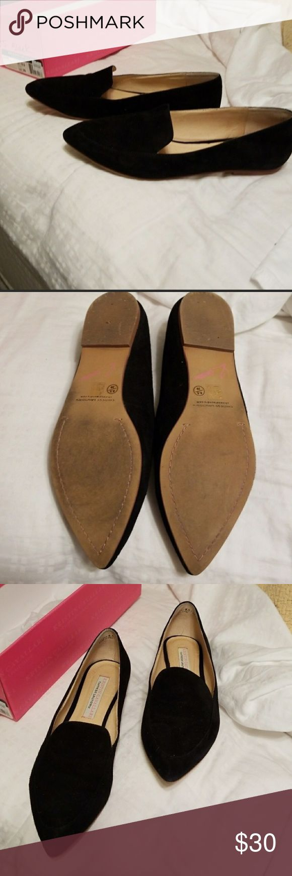 Kristin Cavallari- Chinese Laundry Black Flats Adorable black flats, worn a few times, Sz 8 1/2 Chinese Laundry Shoes Flats & Loafers