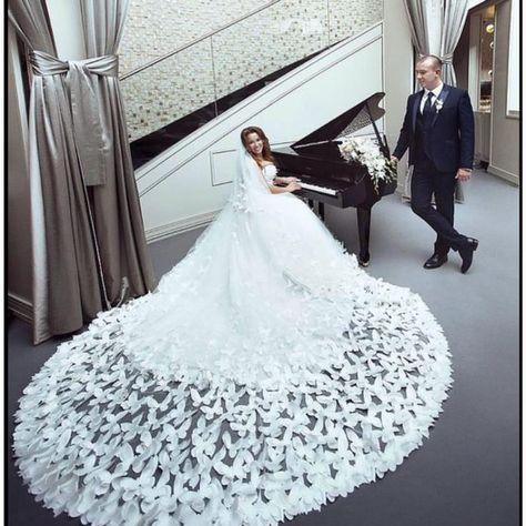свадебное платье с бабочками - Поиск в Google